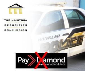 Autoridades do Canadá alertam para PayDiamond Fraude