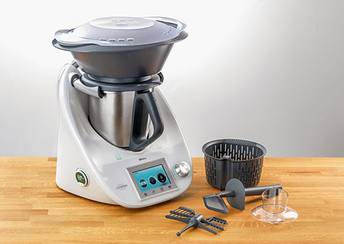 Robô de cozinha Bimby, o produto mais popular da Vorwerk.