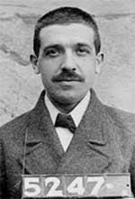 Charles Ponzi, criador do esquema Ponzi