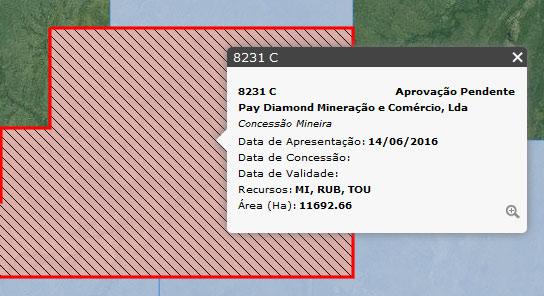 Licença da falsa mina Pay Diamond em Moçambique não foi aprovada.
