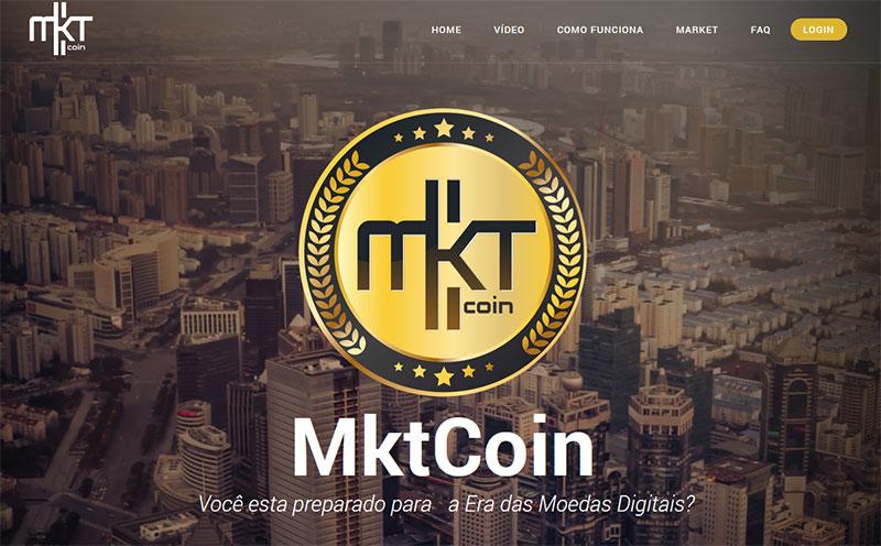 MktCoin a shitcoin da fraude PayDiamond