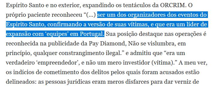 Pedido habeas corpus negado ao burlão Dilhermano Gonçalves