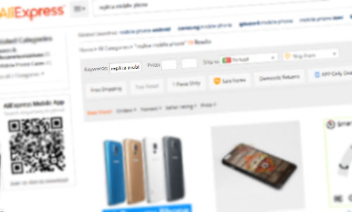 Produtos do Aliexpress e outros sites chineses baratos usados em esquemas em pirâmide.