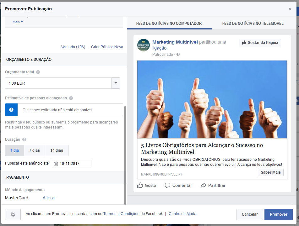 Como usar Facebook no Marketing Multinível