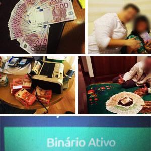 Fotos da fraude PayDiamond e dos burlões Brilliant Team